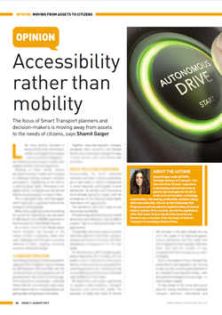 Accessibility rather than mobility