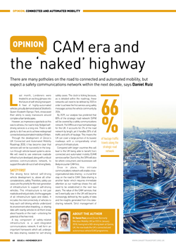 CAM era and the 'naked' highway - Daniel Ruiz