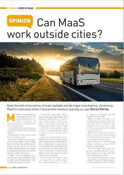 Can Maas work outside cities