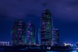 Hainan, purple